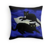 Bibbi & Nova Throw Pillow
