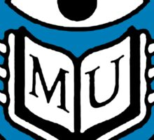 Monsters University Logo Sticker