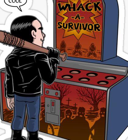 Whack a survivor Sticker