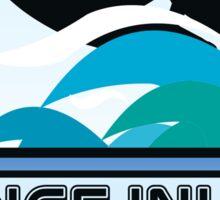 Surfing PONCE INLET FLORIDA Surf Surfer Surfboard Waves Ocean Beach Vacation Sticker