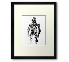 Metal Gear Rising: Revengeance - Raiden Framed Print