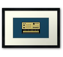 Volca keys Framed Print