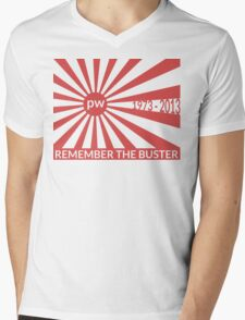 Remember The Buster - Paul Walker Tribute Mens V-Neck T-Shirt