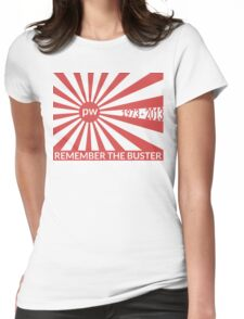Remember The Buster - Paul Walker Tribute Womens Fitted T-Shirt