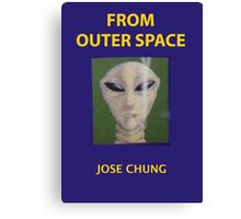 Jose chung from outer space x-files Canvas Print
