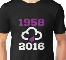 Purple Rain (Prince 1958-2016) - White version Unisex T-Shirt