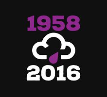 Purple Rain (Prince 1958-2016) - White version Unisex T-Shirt