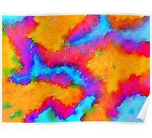 POP Water Color Poster