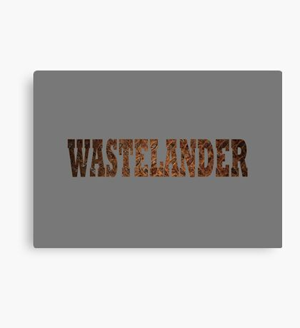 Wastelander (Rust) Canvas Print