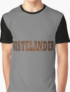 Wastelander (Rust) Graphic T-Shirt