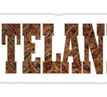 Wastelander (Rust) Sticker