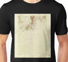 USGS TOPO Map Rhode Island RI Newport 353429 1944 31680 Unisex T-Shirt