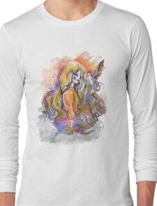 hummingbird girl Long Sleeve T-Shirt