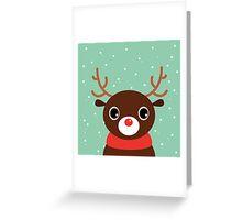 Beautiful cute Xmas Deer - perfect Gift Greeting Card