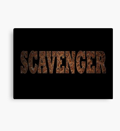 Scavenger (Rust) Canvas Print