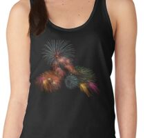 Happy Technicolor 4th Women's Tank Top