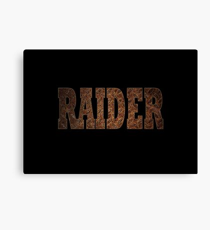 Raider (Rust) Canvas Print