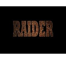 Raider (Rust) Photographic Print