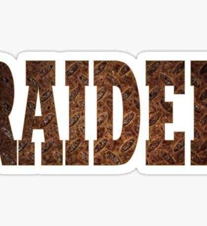 Raider (Rust) Sticker
