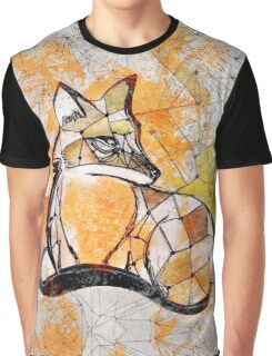 Fox between the lines Graphic T-Shirt