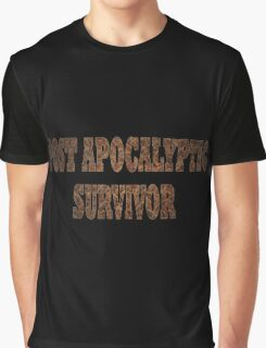 Post Apocalyptic Survivor (Rust) Graphic T-Shirt