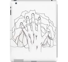 Floral Hands iPad Case/Skin