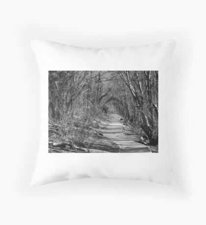 Ham Woods. Throw Pillow