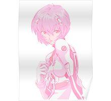 Evangelion- Rei Ayanami  Poster