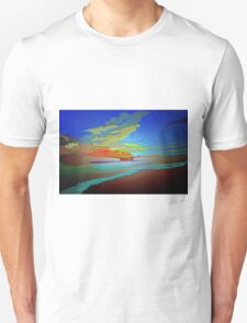Abstract Art seascape and Sky Unisex T-Shirt