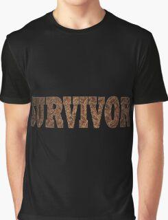 Survivor (Rust) Graphic T-Shirt