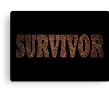 Survivor (Rust) Canvas Print