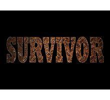 Survivor (Rust) Photographic Print