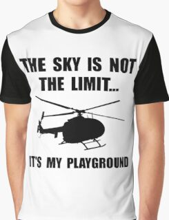 Sky Playground Helicopter Graphic T-Shirt