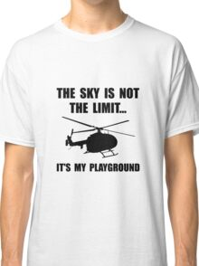 Sky Playground Helicopter Classic T-Shirt