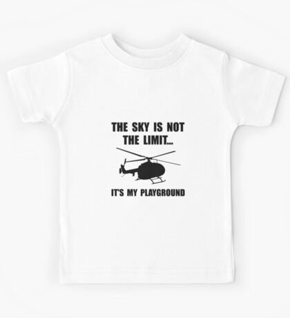 Sky Playground Helicopter Kids Tee