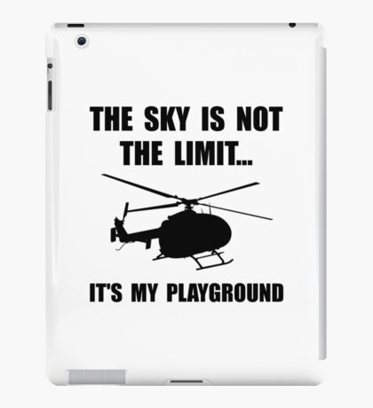 Sky Playground Helicopter iPad Case/Skin