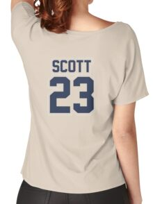 Nathan Scott Jersey Number Women's Relaxed Fit T-Shirt
