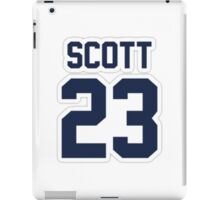 Nathan Scott Jersey Number iPad Case/Skin