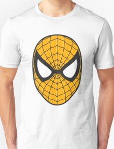 Spiderman yellow logo sticker T-Shirt