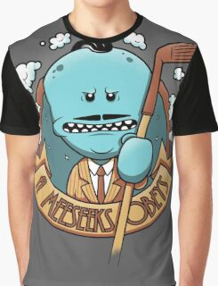 A Meeseeks Obeys Graphic T-Shirt