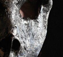 skull mask Sticker