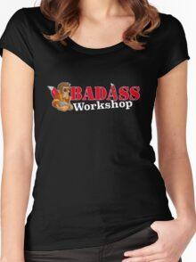 Badass Workshop Women's Fitted Scoop T-Shirt