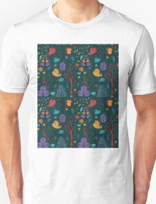 Plant Pattern Color 2 Unisex T-Shirt
