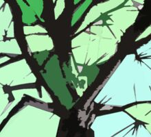 Cubist Tree Sticker