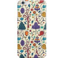 Plant Pattern Color  iPhone Case/Skin