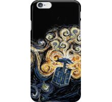 Doctor Who- Van Gogh Tardis iPhone Case/Skin
