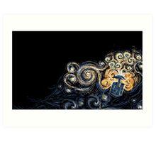 Doctor Who- Van Gogh Tardis Art Print