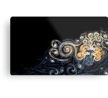 Doctor Who- Van Gogh Tardis Metal Print