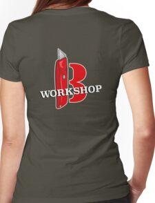 Badass Workshop B Womens Fitted T-Shirt