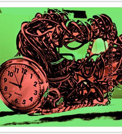 Time Wire 2.0 Sticker
